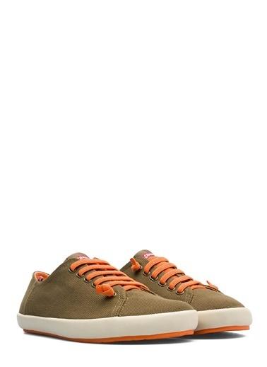 Camper Bağcıklı Ayakkabı Haki